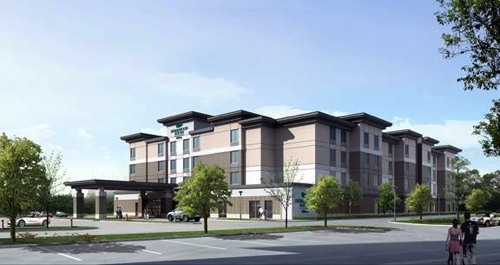 Rendering - Homewood Suites by Hilton Winnipeg Airport - Polo Park
