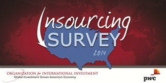 cover image for the 2014 Insourcing Survey