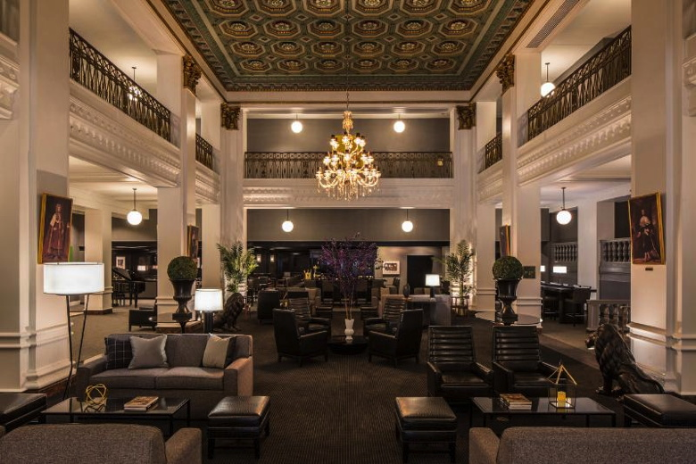 Lord Baltimore Hotel, Grand Lobby