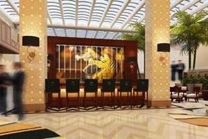 Sheraton Santo Domingo Hotel - Lobby Bar Rendering