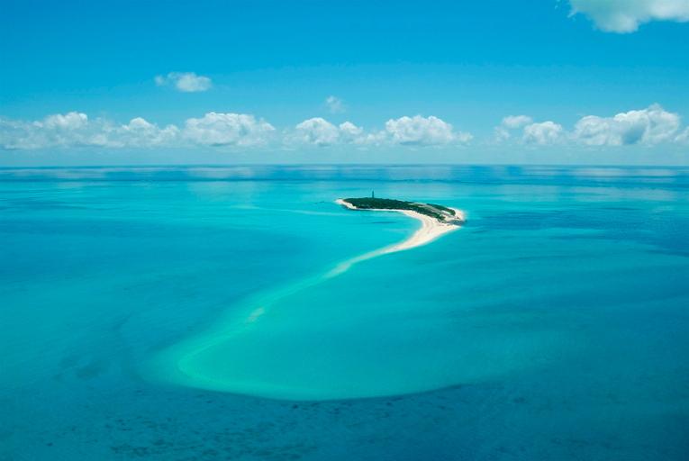 Medjumbe Island Aerial View