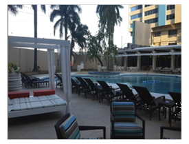 Radisson Hotel Trinidad Outdoor Pool