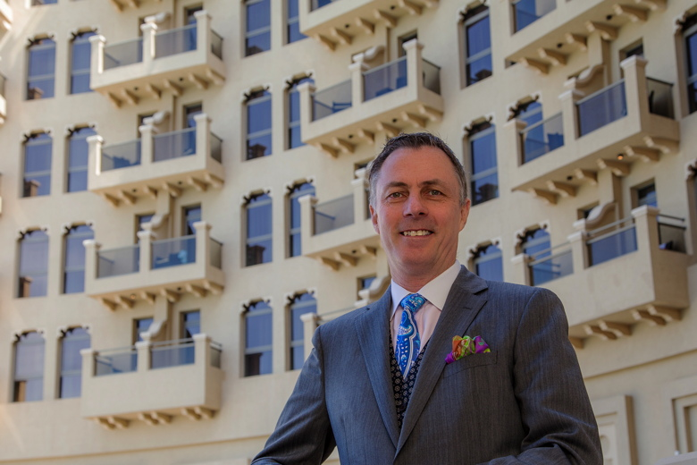 Laurent A. Voivenel at The Ajman Palace