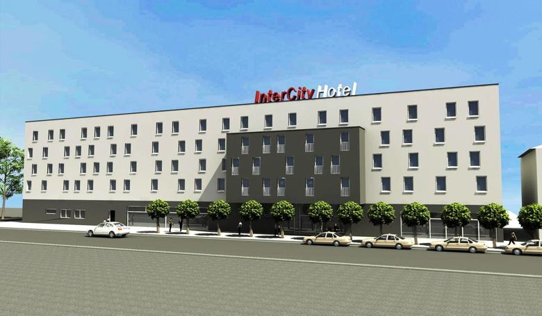 Rendering InterCityHotel Ingolstadt