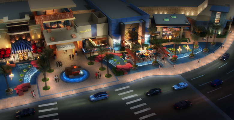 Rendering: Red Rock Resort's Restaurant Row