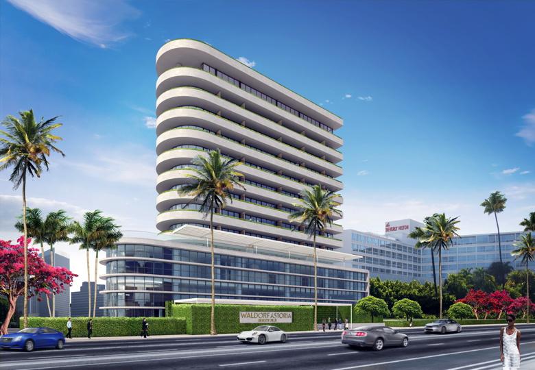 Waldorf Astoria Beverly Hills Rendering