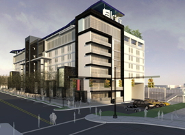 Aloft Oklahoma City Downtown-Bricktown Rendering