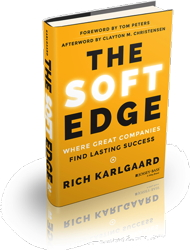 Cover - The Soft Edge: Where Great Companies Find Lasting Success