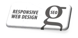 Graphic - Button with the words responsive web design