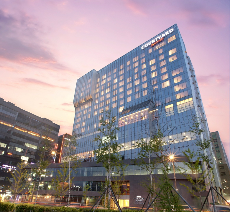 Courtyard by Marriott Seoul Pangyo exterior
