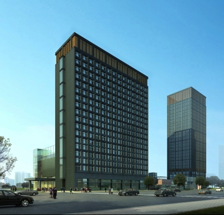 Four Points by Sheraton Hefei Shushan, Exterior Rendering