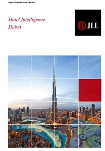 Coverpage from 2014 Hotel Intelligence Report for the Dubai Market