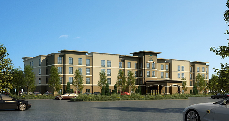 Homewood Suites by Hilton Midland, Texas - Rendering