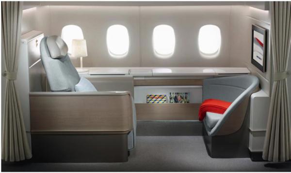 Air France La Première cabin