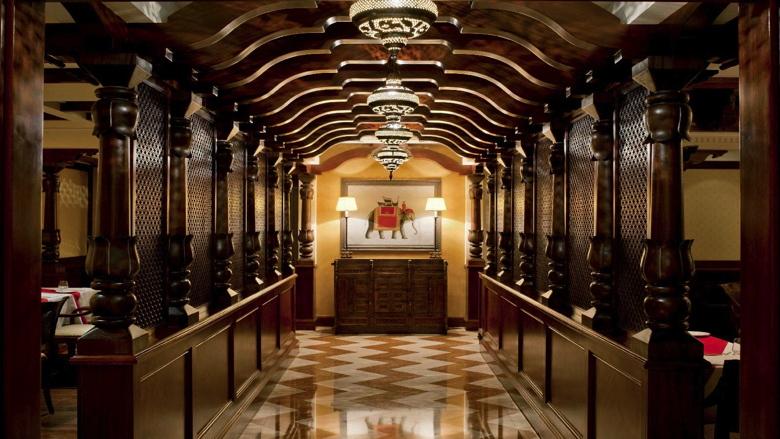 Entrance of Ashiana by Vineet Indian Restaurant at Sheraton Dubai Creek Hotel & Towers