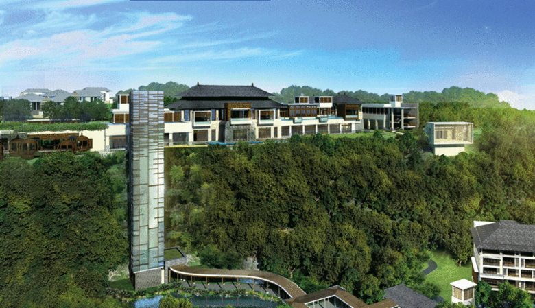The Ritz Carlton Bali - Rendering