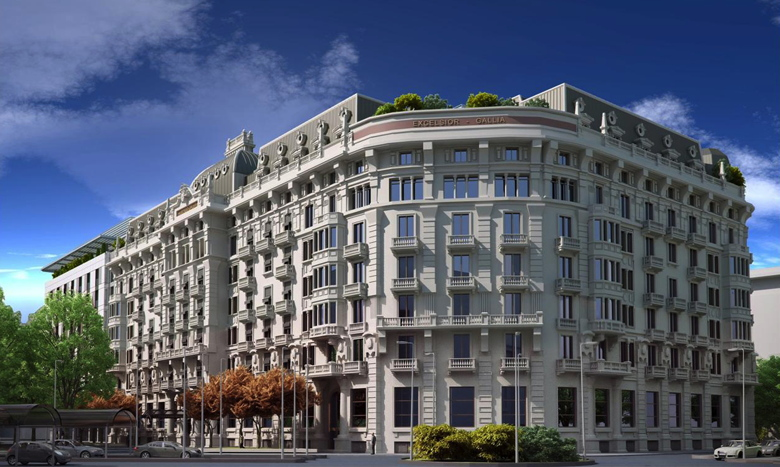 Hotel Gallia in Milan