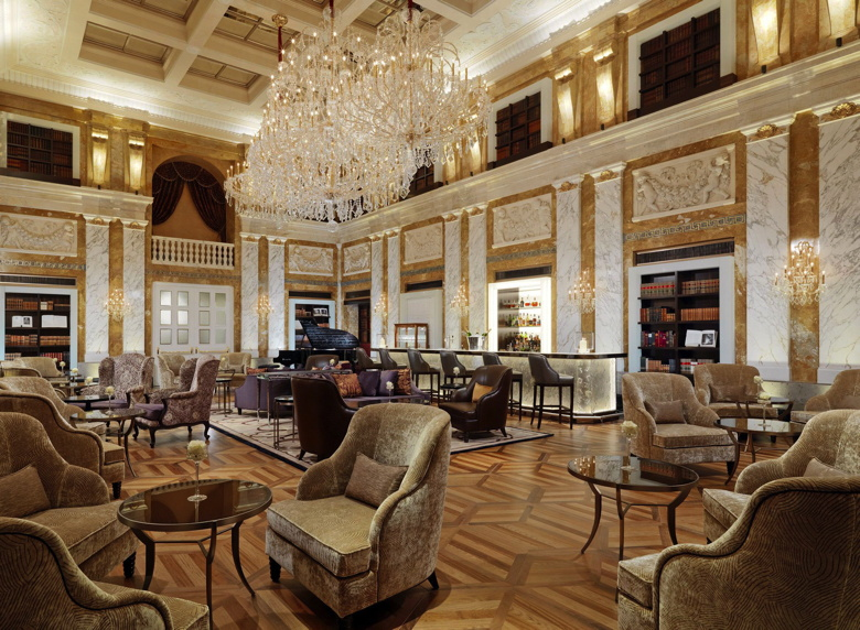 1873 HalleNsalon bar and lounge at Hotel Imperial, a Luxury Collection Hotel, Vienna