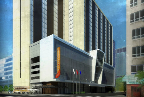 Rendering of The Westin Cleveland Downtown