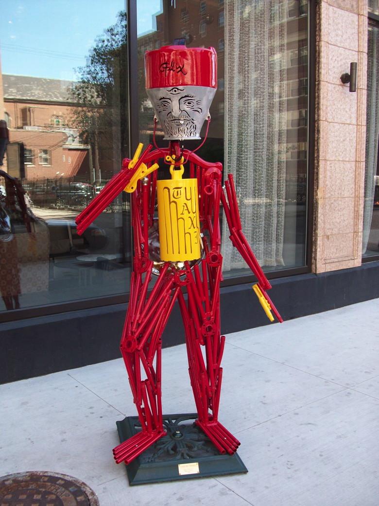 Sculpture - Loren the Doorman