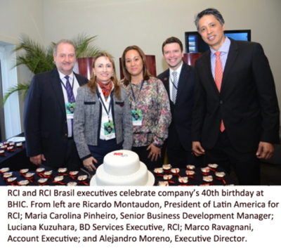 Delegates at the 2014 Brasil Hospitality Investment Conference