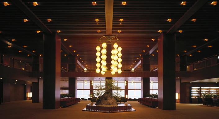 Lobby at the Hotel Okura Tokyo