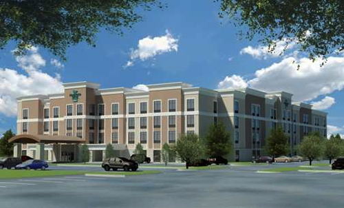 Rendering of the Homewood Suites by Hilton Charlotte/Ballantyne Area, NC