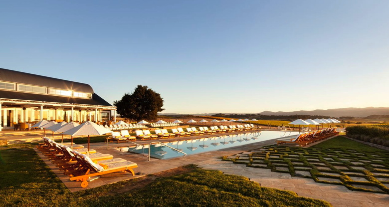 The Carneros Inn in the Napa Valley