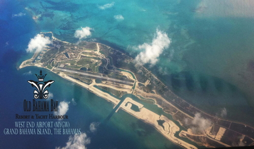The West End Airport, Grand Bahama Island
