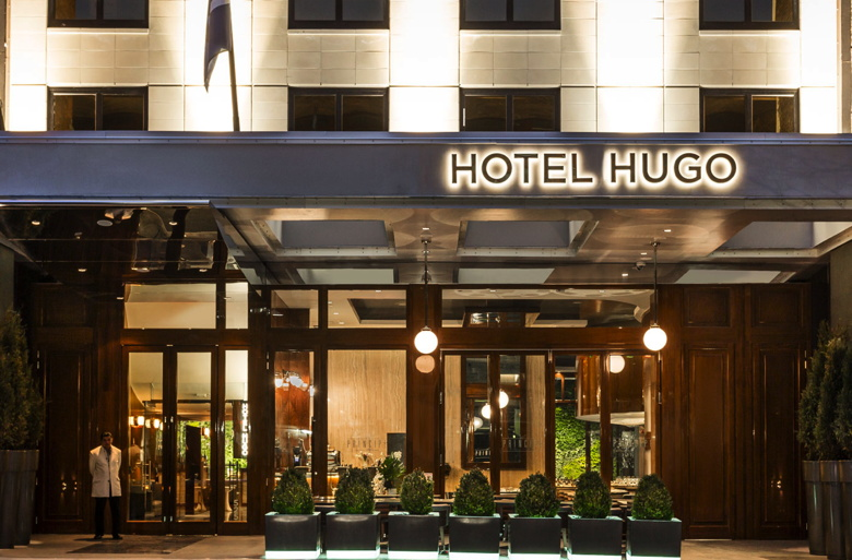 New York�s Hotel Hugo