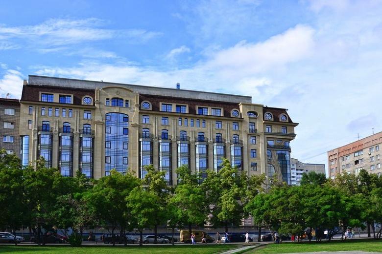 Novosibirsk Marriott Hotel exterior