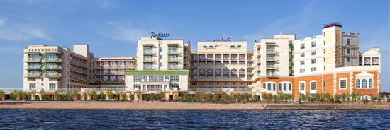 Radisson Resort in Zavidovo, Russia