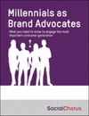 Cover from Millennials as Brand Advocates Research Report