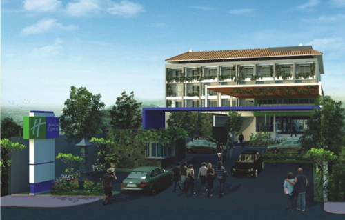 Rendering of the Holiday Inn Express Bali Raya Kuta