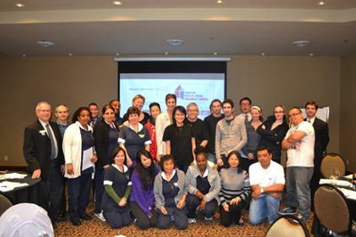 Employees of the BEST WESTERN PLUS Chateau Granville Hotel & Suites & Conference Centre in Vancouver, British Columbia