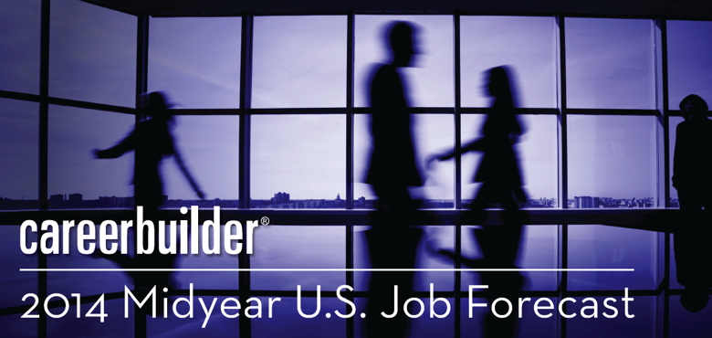 Image from CareerBuilder's Midyear Job Forecast