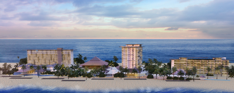 Rendering of the Moon Palace Jamaica Grande