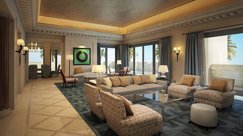 Suite at the Four Seasons Resort Dubai at Jumeirah Beach
