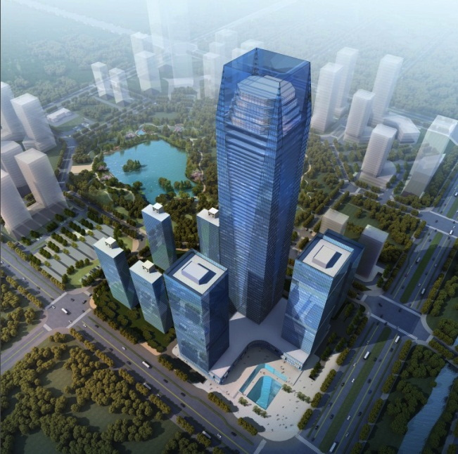 Rendering of the Steigenberger Hotel to Open 2017 in Taizhou, China
