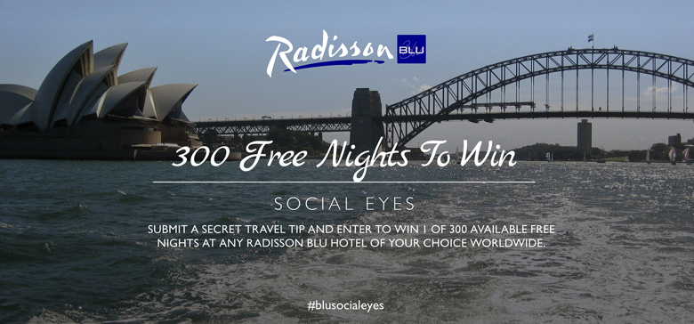 Promotional image for Radisson Blu Blog