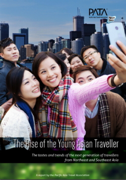Cover from The Rise of the Young Asian Traveller report