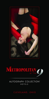 Poster for Metropolitan at The 9 Hotel -  Marriott Autograph Collection