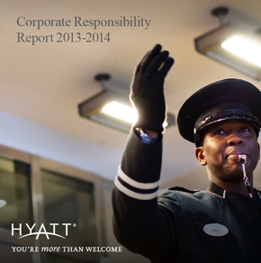 Image from Hyatt Corporate Responsibility Report