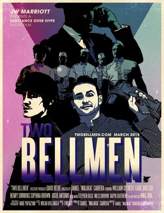 Poster for Marriott Short Film - TWO BELLMEN