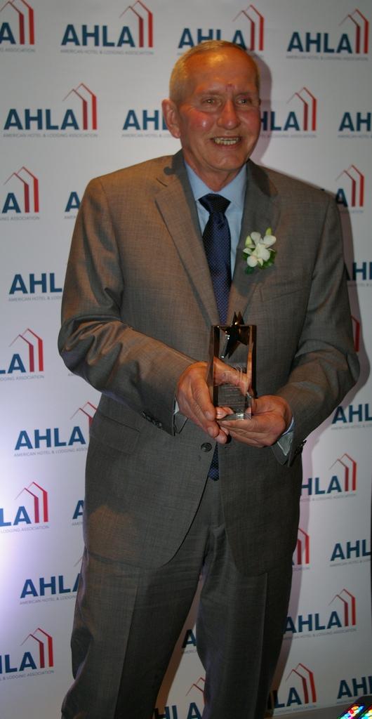 AH&LA Award Winner Steve Blum, Uniformed Services Manager at the Willard InterContinental in Washington, D.C