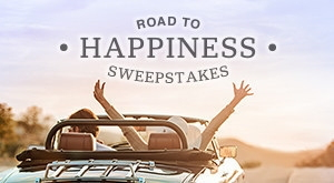 Promotional image for Wyndham's Happiness Sweepstakes