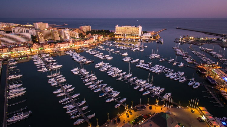 Rendering of the Vilamoura Marina