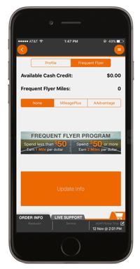 Screenshot of AirGrub App