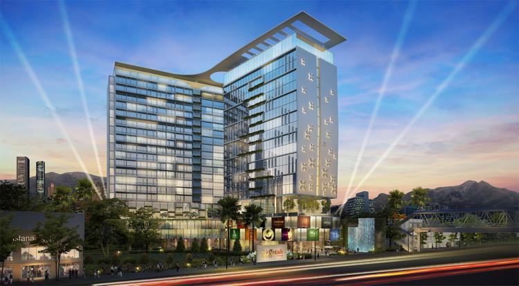 Rendering of the Best Western Premier La Grande Hotel Bandung, Indonesia
