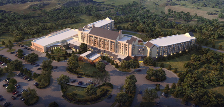 450 room graceland resort scheduled to open october 2016 for Hotels near graceland memphis tn